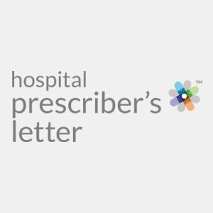 Hospital Prescriber's Letter